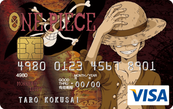 ワンピース VISAカード