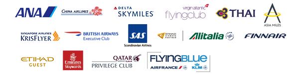 アメリカン・エキスプレス提携航空会社