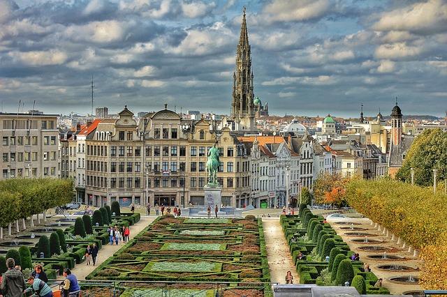 ブリュッセルの風景